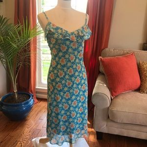 Betsey Johnson Floral Pattern Dress, Size Small